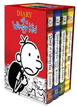 Diary of a Wimpy Kid Box of Books 1-4 in Okinawa, Japan