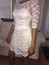 Cute white lace dress & summer dress in Camp Pendleton, California