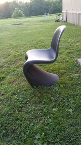 Art Deco armless resin chair in Fort Knox, Kentucky