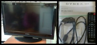"Dynex 26"" LCD TV (DX-26L150A11) in Fort Benning, Georgia"