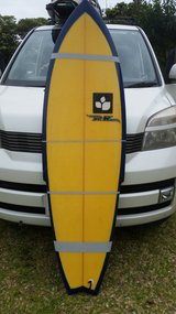 5.10 surfboard great conditions in Okinawa, Japan
