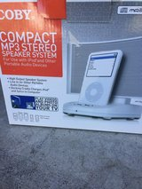 New!! iPod speaker system - credit cards accepted in Naperville, Illinois