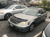 1999 honda civic ex automatic in Camp Pendleton, California