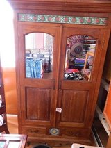 Teak (old) cabinet in Okinawa, Japan
