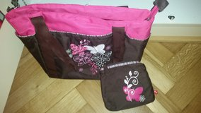 Baby girl Butterfly diaper bag in Baumholder, GE