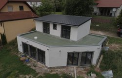 133 sqm, 3 bedrooms, open floor plan kitchen/dining/living, state-of-the art heat pump in Ramstein, Germany