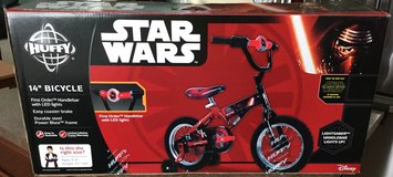 Star Wars Kyle Ren 14 inch bike new in Yorkville, Illinois