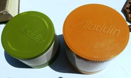 2 ALADDIN INSULATED THERMOS FOOD JAR WITH FREEZABLE LIDS in St. Louis, Missouri