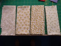 ..100% cotton fabric fat quarters, Christmas theme in Lakenheath, UK