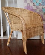 Child's natural wicker chair - in Bolingbrook, Illinois