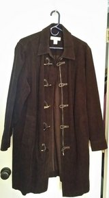 Jones New York Woman's 2X brown corduroy jacket in Joliet, Illinois