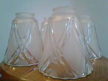 Glass Light Shades - Set of Four in Davis-Monthan AFB, Arizona