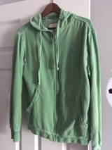 Green hooded sweatshirt zip up M in Chicago, Illinois