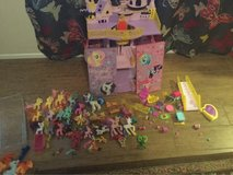 My little pony house collection in Nellis AFB, Nevada