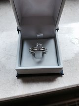 diamond engagement ring and wedding band in Ramstein, Germany