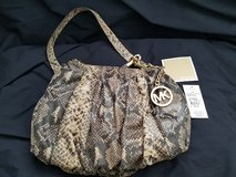 Genuine Leather Michael Kors Purse - New with Tags in Vacaville, California