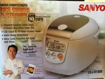 Sanyo - Pro Rice cooker - like new in Baumholder, GE