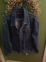 Denim jacket in Alamogordo, New Mexico