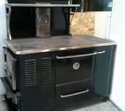 antique cook stove in Fort Campbell, Kentucky
