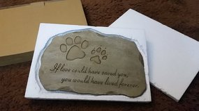 Brand new in box Pet Memorial Garden Stone in Bellaire, Texas