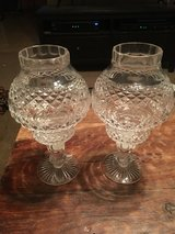 Tyrone Crystal Tea Candle Holders in 29 Palms, California