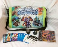 SKYLANDERS ADVENTURE CASE WITH GAME & ACCESSORIES in Columbus, Georgia