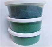 NEW LOT 3 Green Sugar Baking Glitter Edible Decor 8 Oz Each Cookies Cake SEALED in Naperville, Illinois