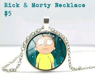 Rick & Morty Necklace in Fort Benning, Georgia
