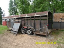 Stock or Four (4) horse or Storage  Trailer Gooseneck hitch $2200 OBO in Dover, Tennessee