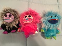 TY Monster Beanies- Set of 3-- NEW in Kingwood, Texas