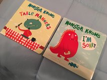 Monster Board Books- Set of 2- NEW in Kingwood, Texas