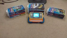 VTech MobiGo Touch Learning System + 12 games in Yorkville, Illinois