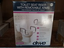 Drive toilet seat riser with removable arms. in Chicago, Illinois