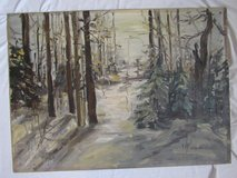 Original vintage oil painting in Clarksville, Tennessee