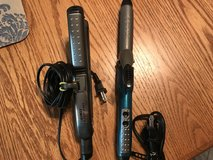 Conair Infinity Pro Curling Iron And Infinity Flat Iron in Belleville, Illinois