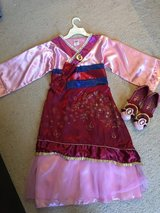Disney Mulan Costume and Shoes in Bartlett, Illinois