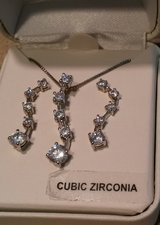 Cubic Zirconia 2 pc set in Columbia, South Carolina