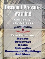 Pressure washing in Fort Campbell, Kentucky
