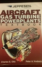 Jeppesen Aircraft Gas Turbine Powerplants Textbook with Workbook in Fort Rucker, Alabama