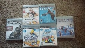 PS3 games in Fort Leonard Wood, Missouri