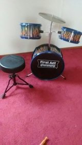 Kids Drum set with chair in Conroe, Texas