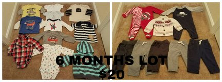 Lot for Baby Boy due in Fall 4 in Beaufort, South Carolina