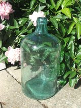 Vintage Carboy Aqua Marine Teal 3 Gallon Wine / beer Brew Bottle in Lockport, Illinois