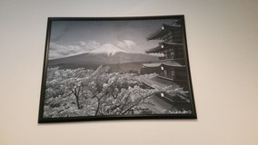 Japanese Mount Fuji painting in Okinawa, Japan