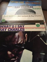 Collection of Ray Charles Albums in Warner Robins, Georgia