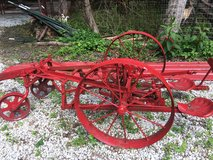 ANTIQUE CORN ROWER YARD ART DECORATION OUTSIDE Red Awesome in Naperville, Illinois