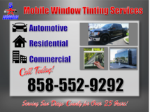 GOT TINT   HOMES, BOATS, AND HOMES. in San Diego, California