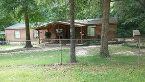 REDUCED!!! Double Wide Log Mobile Home in Leesville, Louisiana