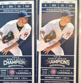 CUBS vs CARDINALS TICKETS 6/2 and 6/3 in Lockport, Illinois