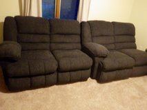2 Double recliners in Wilmington, North Carolina